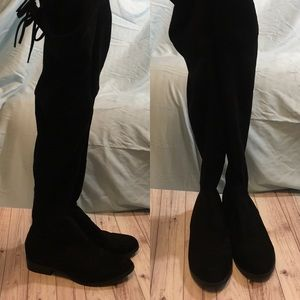 Catherine malendrino black over the knee boots